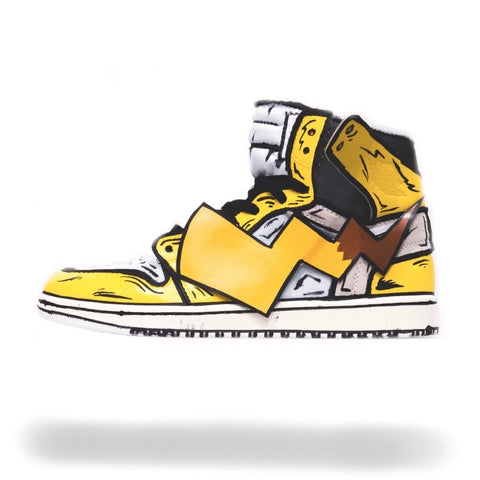 Pikachu Off White Air Jordan 1 - CustomizerDepot