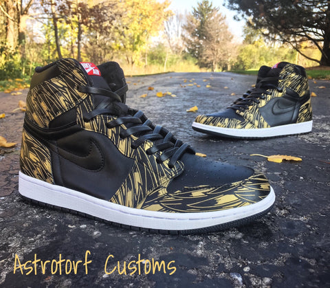 "Jordan Retro 1 ""Wings"" - CustomizerDepot"