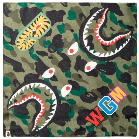 Bape Camo Shark Bandana - CustomizerDepot