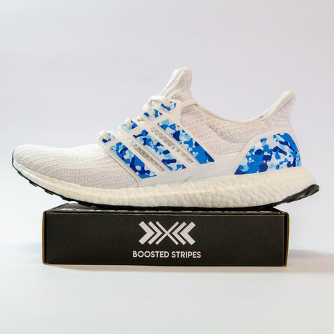 "Boosted Stripes ""Blue Camo"""
