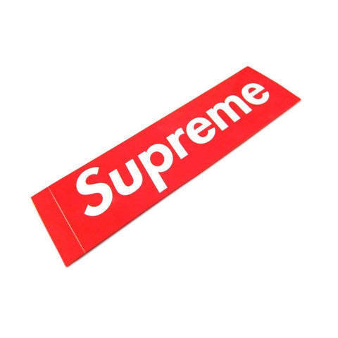 Supreme Box Logo Sticker - CustomizerDepot