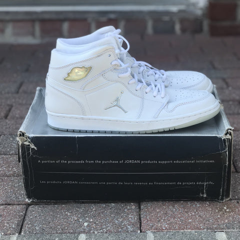 Jordan 1 Retro White Chrome (2002) - CustomizerDepot