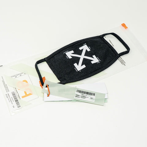 Off White Arrows Face Mask - CustomizerDepot