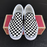 Vans Checkerboard Slip Ons - CustomizerDepot