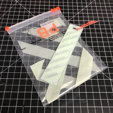 Off White Hangtag & Bag