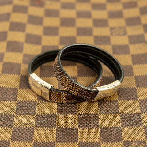 LV Brown Damier Bracelet