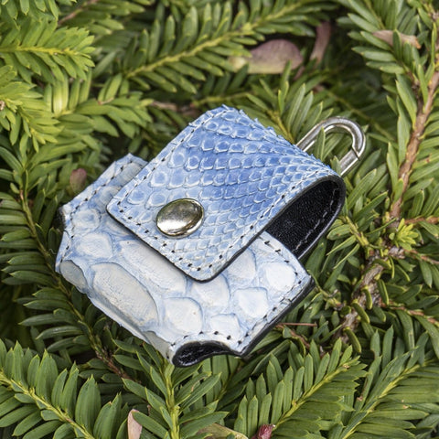Blue Python Apple AirPods Case - CustomizerDepot