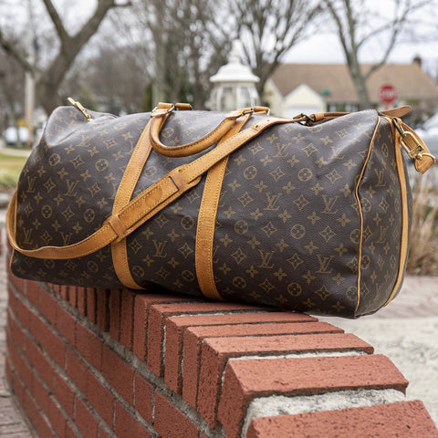 Louis Vuitton Keepall Bandouliere 55 Duffle Bag (VI884) - CustomizerDepot