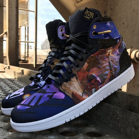 "Air Jordan 1 ""Fortnite"" - CustomizerDepot"