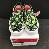 Supreme/Vans Juicy J Skull Pile Slip Ons - CustomizerDepot