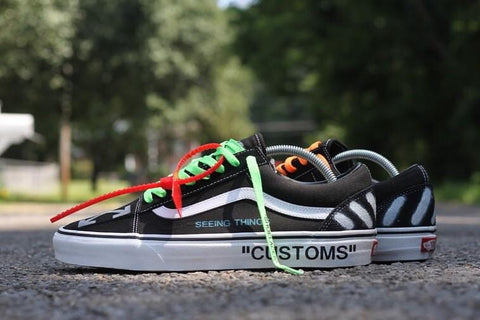"Vans Old Skool ""Seeing Things"" - CustomizerDepot"