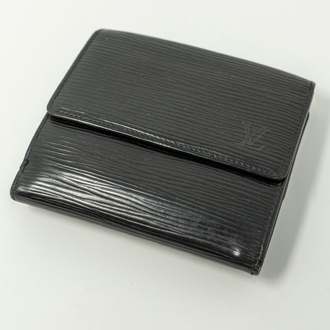 Louis Vuitton Epi Noir Trifold Wallet (SD1906) - CustomizerDepot