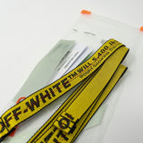 Off White Mini Industrial Belt (Under Retail) - CustomizerDepot