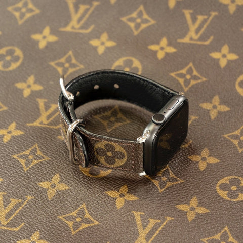 Louis Vuitton Monogram Apple Watch Band - CustomizerDepot