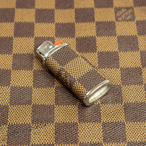 Damier Ebene Mini Lighter Sleeve