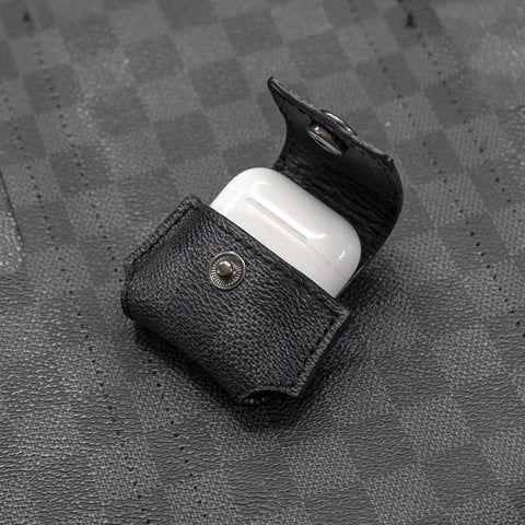 Louis Vuitton Damier Graphite Apple AirPods Case