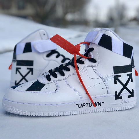 "Air Force 1 ""Off White"" - CustomizerDepot"