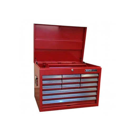 Tool Chest 12 Draw Red Rico 660(W) x 455(D) x 483(H)