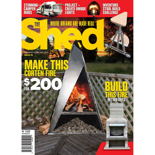 The Shed - Where Dreams Are Made Real Monthly Publication