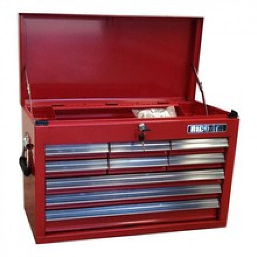 TOOL CHEST 9 DRAWER RED RICO 660(W) x 307(D) x 427(H) -  WAS  - TOP6139
