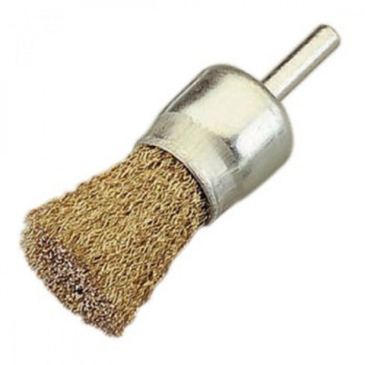 BC2600E End Brush 26mm x 30mm x 0.3mm - 6mm Shank - Coated Steel Loose
