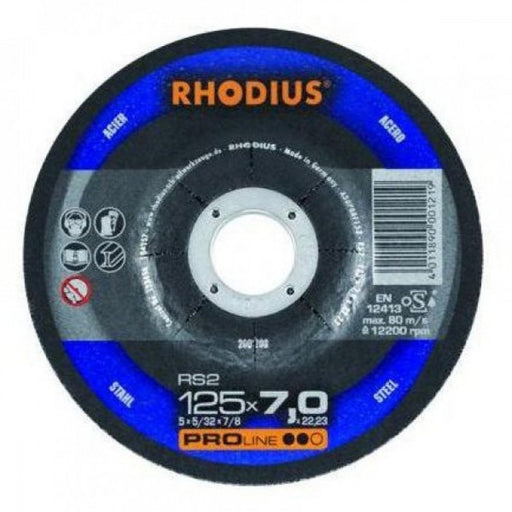 105x7.0x16 Grinding Disc Steel RS2 PROline