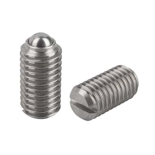 M4 Stainless Steel Spring Plungers (Ball Catch), L=9mm