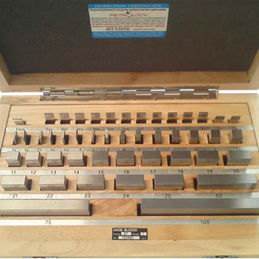 Gauge Block Set With Traceable Certificate 1.005-100mm