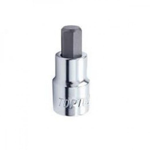 "HEX BIT SOCKET 1/4""dr x 6mm TOPTUL  BCDA0806"
