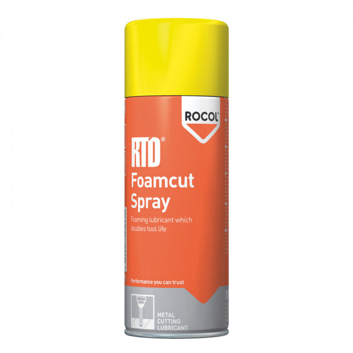 RTD FOAMCUT Spray 300ml Y53041 Rocol Aerosol    DG