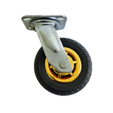 "4PCS 6"" 150mm heavy duty caster wheels 1000 kg load 2 with brakes"