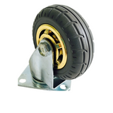 4'' 100 mm Rubber Swivel Heavy Duty Caster Wheels 100 kg Load