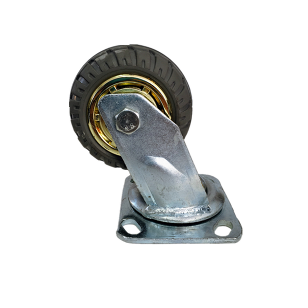 4'' 100 mm Rubber Swivel heavy duty Caster Wheels 200 kg load