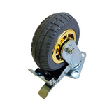 "6"" 150 mm heavy duty caster wheels 250 kg load with brake"