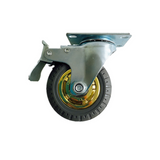 4'' 100 mm Swivel heavy duty Caster Wheels 100 kg Load with Brake