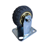 "4"" 100 mm fixed heavy duty caster wheels 200 kg load"