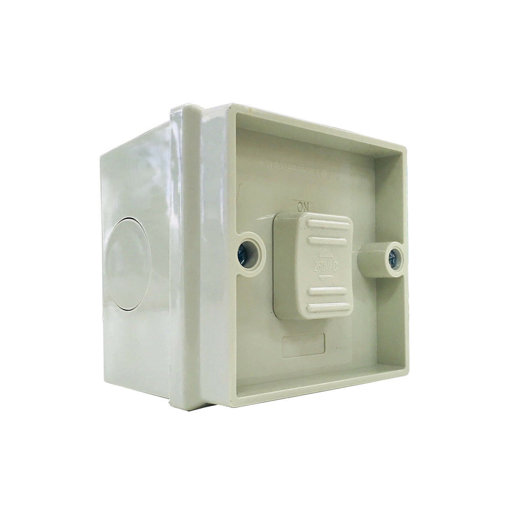 Weatherproof Single One Gang Toggle Power Switch