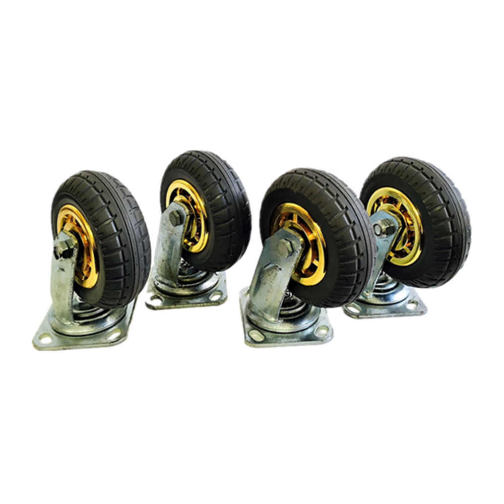"4PCS 6"" 150mm heavy duty caster wheels 1000 kg load"