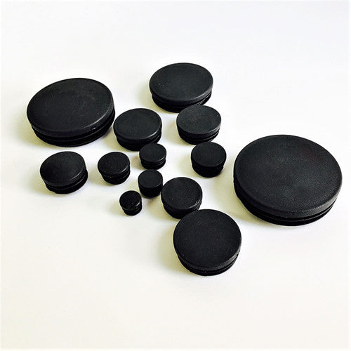 Pcs round plastic end caps for steel tubing discount