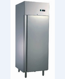 Commercial Upright Fridge Single Solid Door 550L 304 Stainless Steel