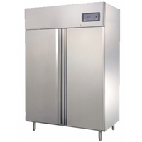 Commercial Upright Fridge 2 Door 1200L 304 Stainless Steel