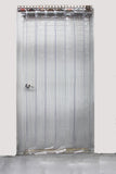 Clear PVC Strip Curtains 900 x 2100mm - 75mm wide strips