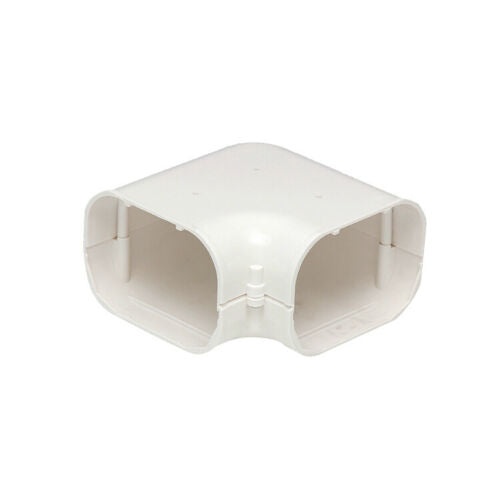 100mm Bend 90 Deg Flat Elbow Air Conditioning Duct PVC Cover