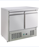 Commercial Bench Top Fridge; two doors refrigerator