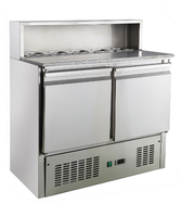 Saladette Fridge; Bench Top Refrigerator; Stainless Steel 304