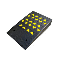 Heavy Duty Rubber Leveling Kerb Ramp 10T - 170mmH