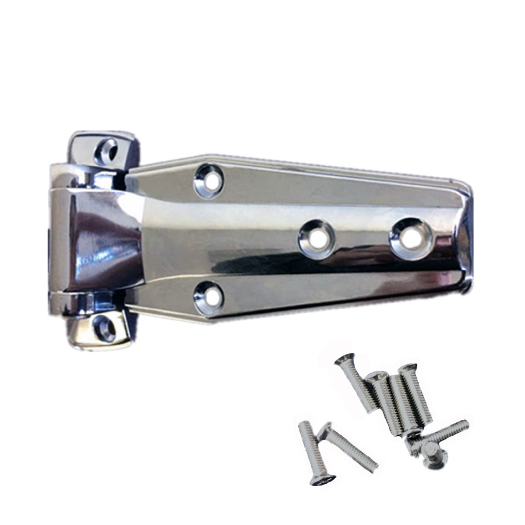 Coolroom/Freezer Flush Hinge 714 W/Screws