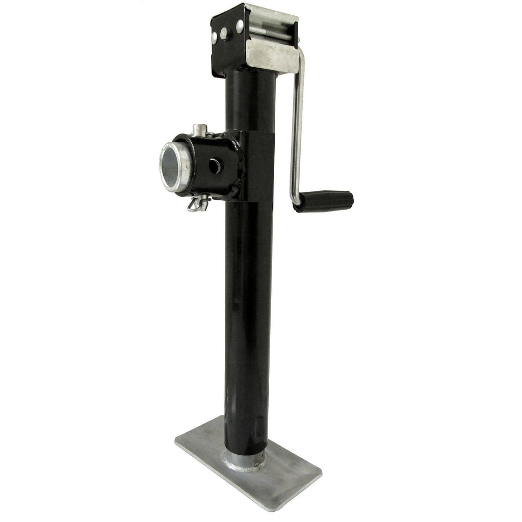 Trailer Jack Stand with Flange Gearbox Trailer Parts