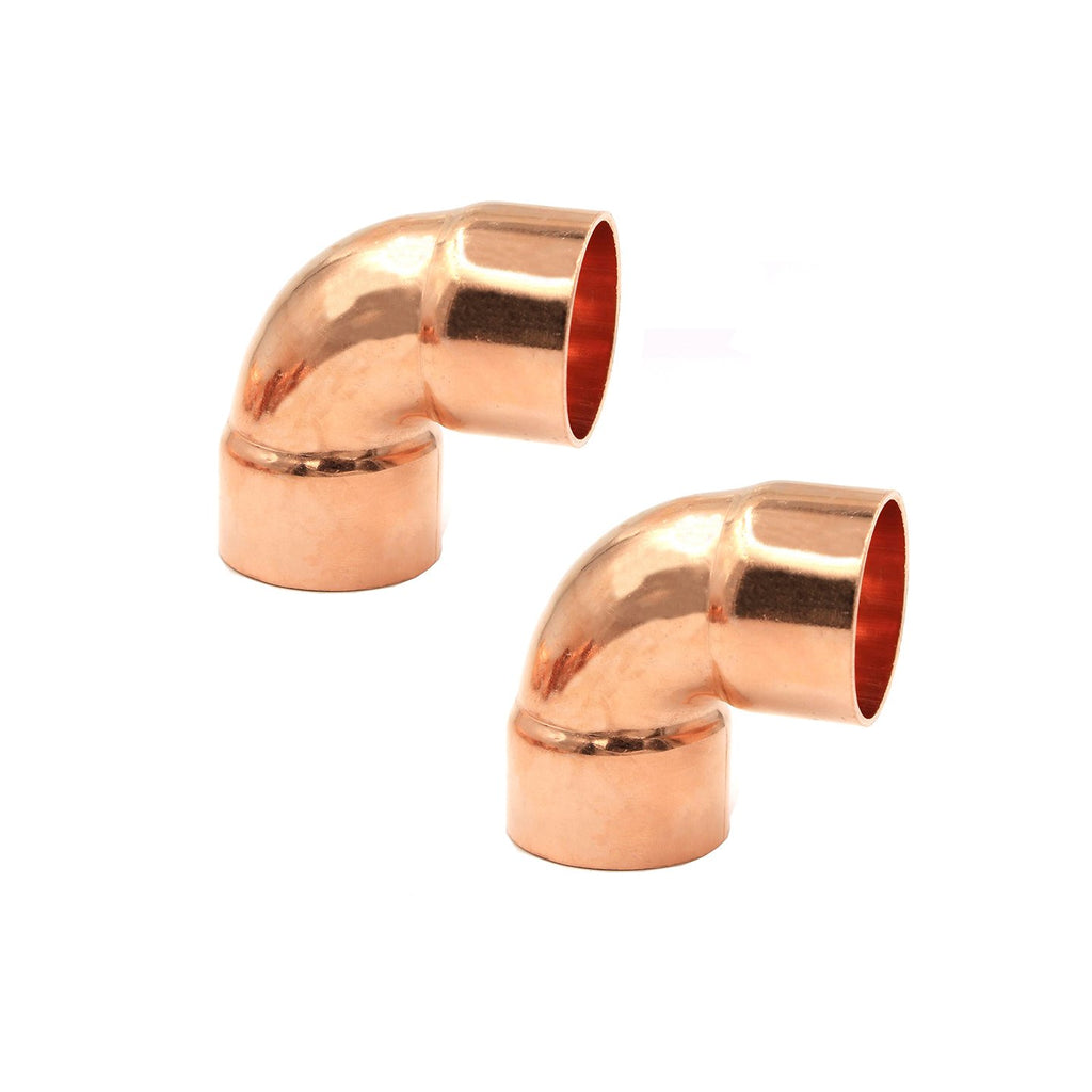 1 1/8 inch Copper Elbow 90 Degree 4000kPa Female Female