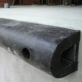 Dock Bumper D-section Rubber